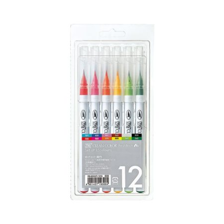 Zig Clean Color - 12 Color set