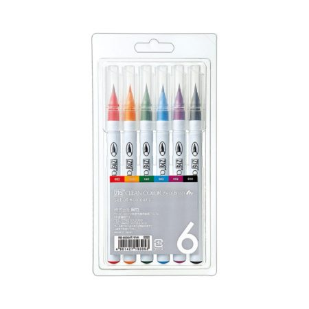 Zig Clean Color - 6 Color set