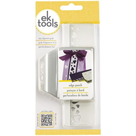 EK SUCCESS - Edge Punch - Heart Confetti - E5440194