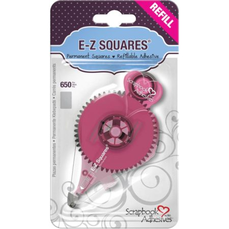 Scrapbook Adhesives E-Z Squares Runner Refill - Permanent - 12076