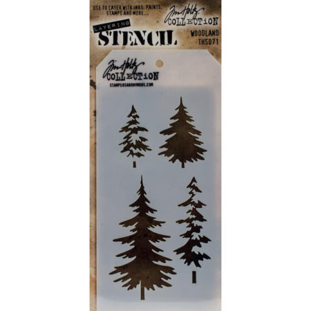 Tim Holtz - Layered Stencil - Woodland - THS071