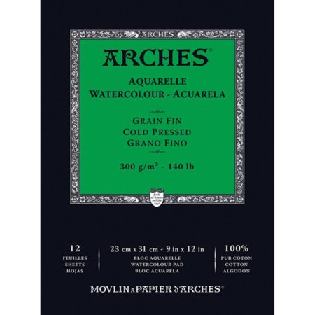 Arches Watercolor Cold Pressed Paper Pad - 1795092