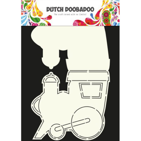 Dutch Doobadoo – Card Art – Train