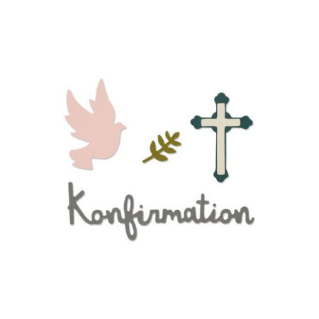 Sizzix - Konfirmation - 662114