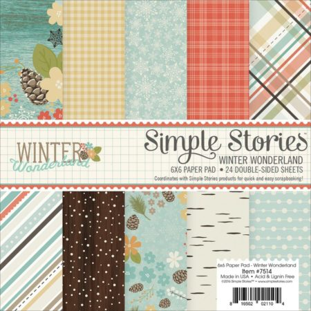 Simple Stories - Sn@p - Winter Wonderland - 7514