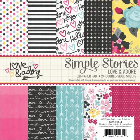 Simple Stories - Sn@p - Love & Adore - 7614