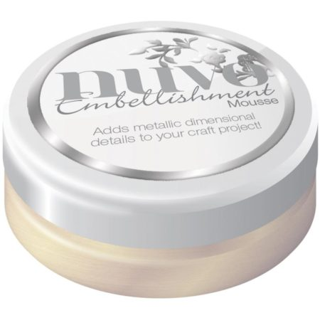 Nuvo Embellishment Mousse - Mother Of Pearl - 804N