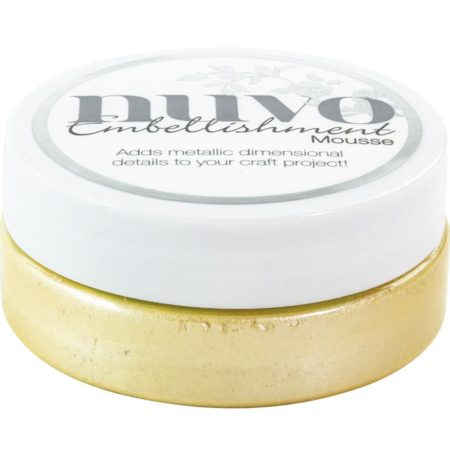 Nuvo Embellishment Mousse - Lemon Sorbet - 805N