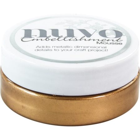 Nuvo Embellishment Mousse - Cosmic Brown - 810N