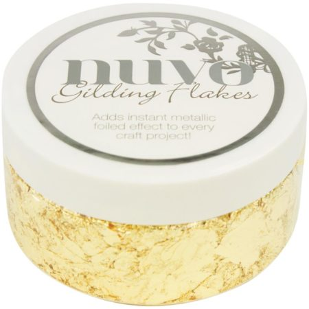 Nuvo Gilding Flakes - Radient Gold - 850N