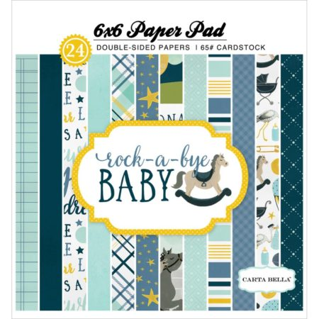 Carta Bella Double - Rock-A-Bye Baby Boy - CBRBB64015