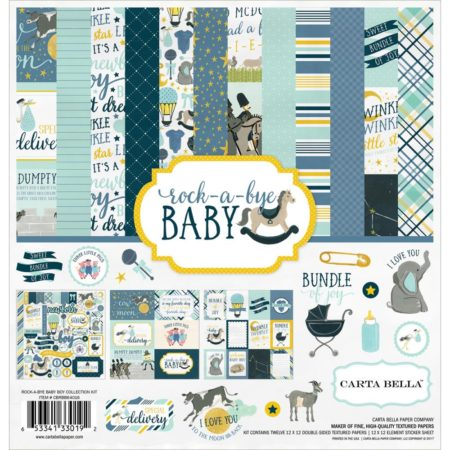 Carta Bella - Rock-A-Bye Baby Boy