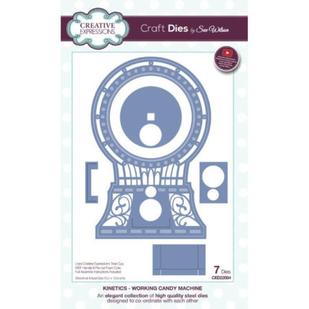 Creative Expressions - Kinetics - Working Candy Machine - CED22004