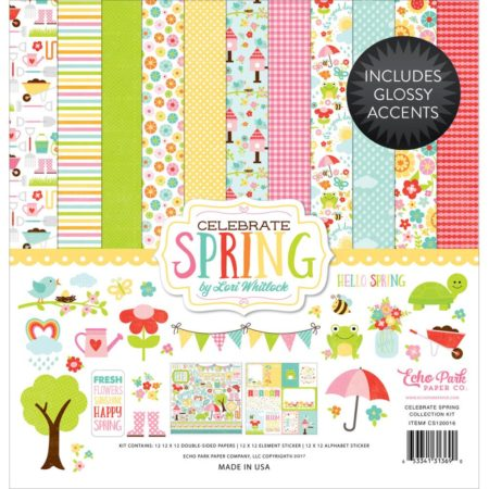 Echo Park Paper Kit - Celebrate Spring - cs120016
