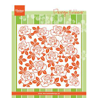 Marianne Design - Embossing Folder - Roses - DF3423