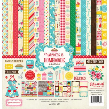 Echo Park Paper Kit - Happiness Is Homemade - HIH118016