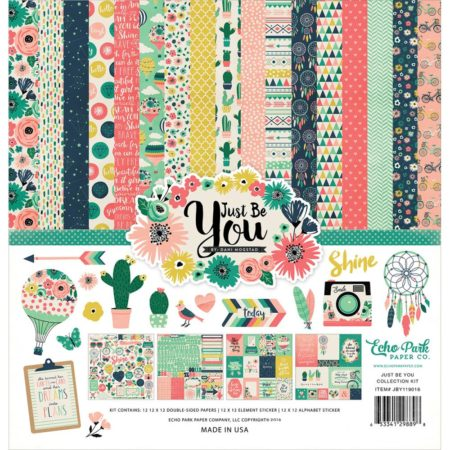 Echo Park Paper Kit - Just Be You - jby119016