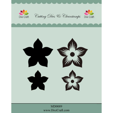 Dixi Craft - Dies/Clear stamp - Flowers - MD0089