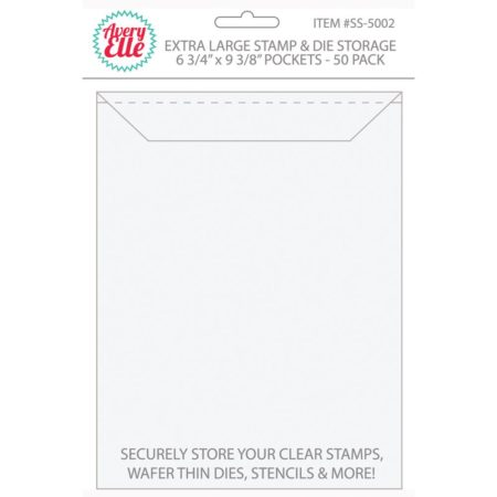 Avery Elle Stamp & Die Storage Pockets - Extra Large