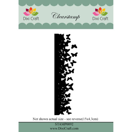 Dixi Craft - clear stamp - Butterfly Border - STAMP0092