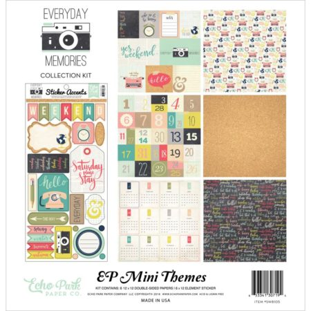 Echo Park Mini Themes - Everyday Memories - SW8105