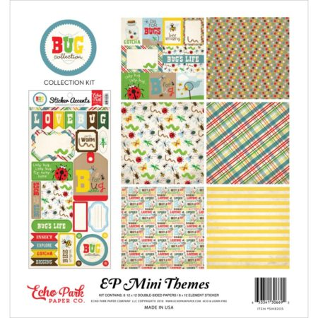Echo Park Mini Themes - Bug Collection - SW8205