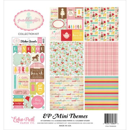Echo Park Mini Themes - Granddaughter - SW8305
