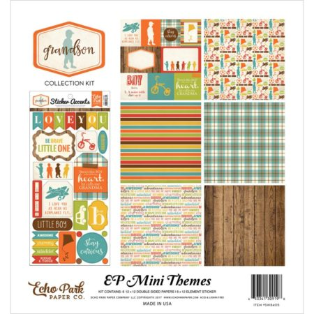 Echo Park Mini Themes - Grandson - SW8405