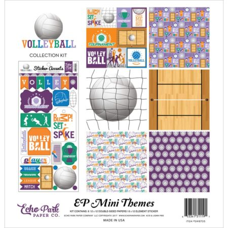 ho Park Mini Themes - Volleyball - SW8705