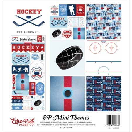 Echo Park Mini Themes - Hockey - SW8805