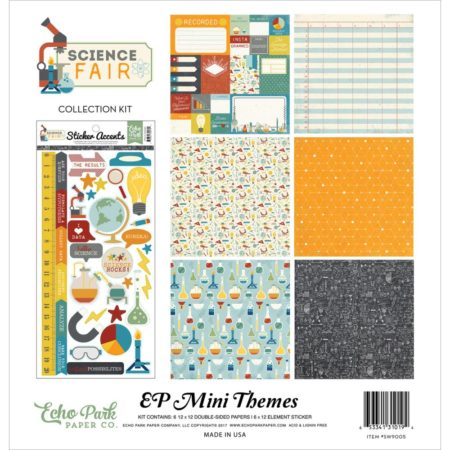 Echo Park Mini Themes - Science Fair - SW9005