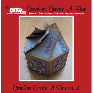 Crealies Crea Dies - Create A Box 2 - CCAB02