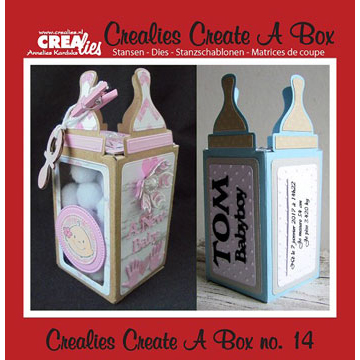Crealies Crea Dies - Create A Box 14 - CCAB14