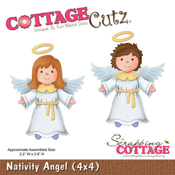 Cottage Cutz - Nativity Angel - CC4x4-429