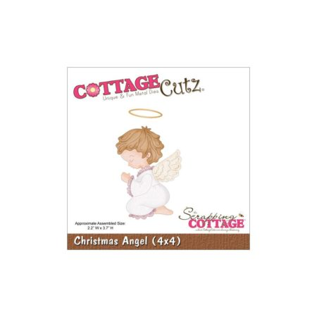 Cottage Cutz Dies - Christmas Angel - CC4x4-550