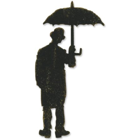 Sizzix Bigz - Tim Holtz - Umbrella Man - 657189