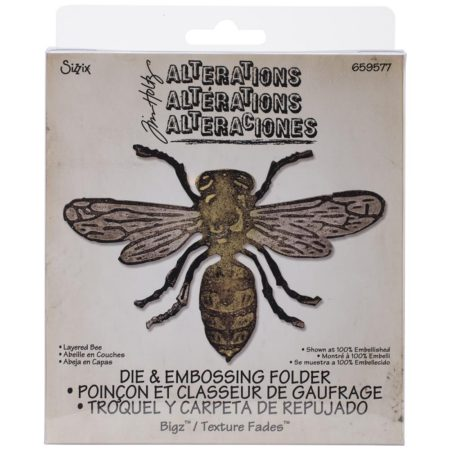 Sizzix Bigz - Tim Holtz - Layered Bee - 659577
