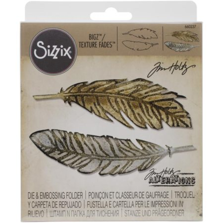 Sizzix Bigz - Tim Holtz - Feather Duo - 650237