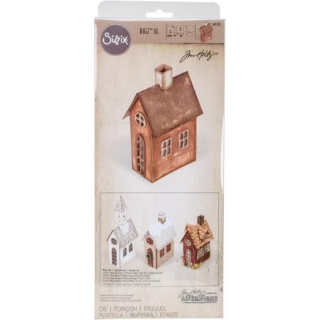 Sizzix Bigz - Tim Holtz - Village Brownstone - 661205