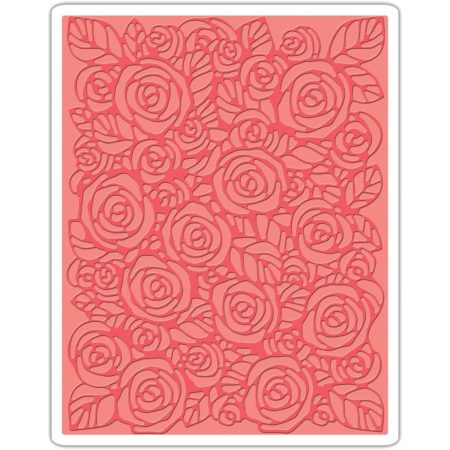 Sizzix – Tim Holtz - Embossing Folder- Roses - 661829