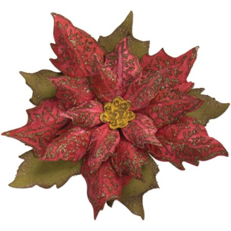 Sizzix Bigz - Tim Holtz - Layered Tattered Poinsettia - 662170