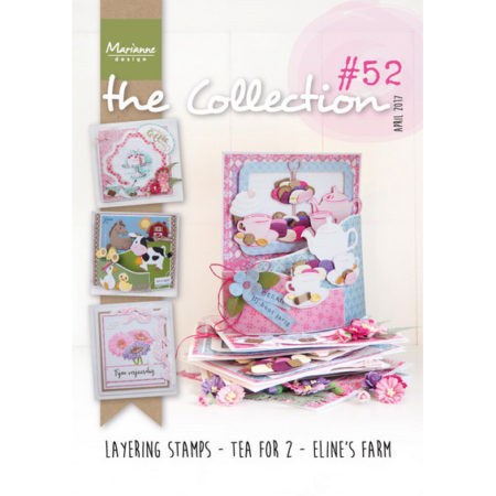 Marianne Design - modelhæfte - The Collection 52 - CAT1352