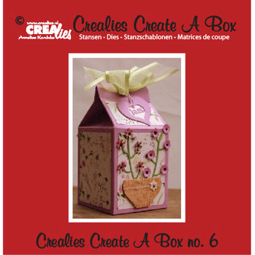 Crealies Crea Dies - Create A Box 6 - CCAB06