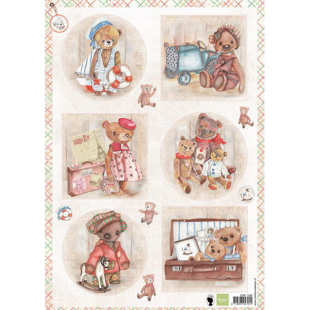 Marianne Design - 3D Ark - Teddy Bears - EWK1249