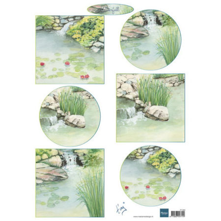 Marianne Design - 3D Ark - TINY'S Waterfalls - IT594