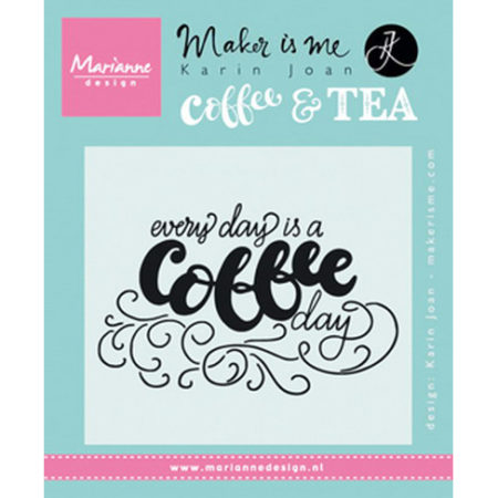 Marianne Design Stempel - Every day is a coffee day – KJ1708