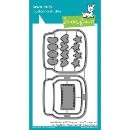 Lawn Fawn Dies - How You Bean Shaker Add-On - LF1327