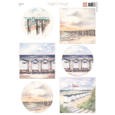 Marianne Design - 3D Ark - MATTIE'S Beach - MD0167