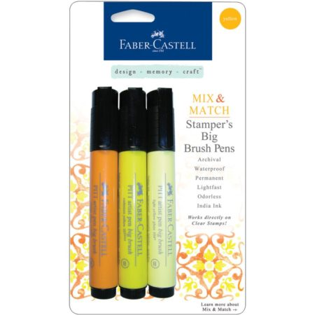 FABER CASTELL - Stamper's Big Brush Pen - Yellow - MMBBS 70051