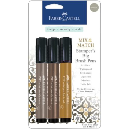 FABER CASTELL - Stamper's Big Brush Pen - Neutral - MMBBS 70054